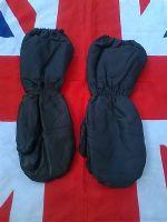 EX ARMY MILITARY  EXTREME COLD BLACK WATERPROOF MITTENS